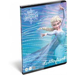 Jégvarázs füzet A/5, 32 lap szótár Frozen Magic