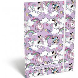 Minnie gumis mappa A/4 Minnie Mouse Unicorn