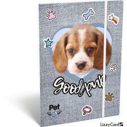 Kutyás gumis mappa A/5 Pet Good Pup
