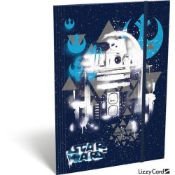 Star Wars gumis mappa A/5, Heroes Droids