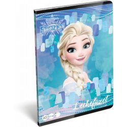 Jégvarázs füzet A/5, 32 lap lecke Frozen Magic