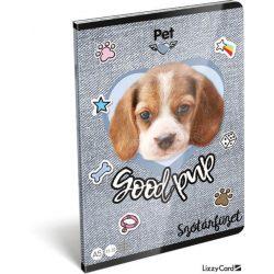 Kutyás füzet A/5, 32 lap szótár Pet Good Pup