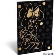 Minnie gumis mappa A/4 Minnie Fashion Black