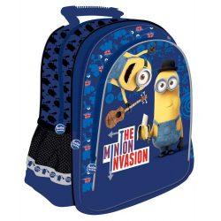 Minions táska, hátizsák 2 részes 38 cm, kék