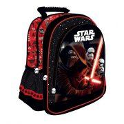 Star Wars táska, hátizsák 38 cm, piros-fekete