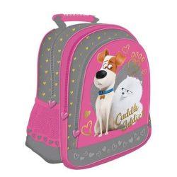 Kis kedvencek titkos élete táska, hátizsák 38 cm, lányoknak