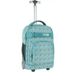 Paso gurulós hátizsák, táska, 51 cm, pöttyökkel