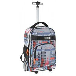 Paso gurulós hátizsák, táska, 51 cm, New York