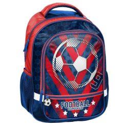 Focis hátizsák, iskolatáska 43 cm, kék-piros, Paso