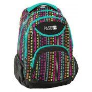 Paso táska, hátizsák 43 cm, színes pöttyös