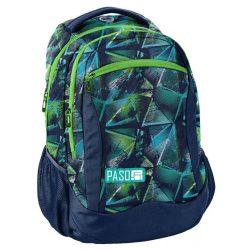 Paso táska, hátizsák 41 cm, háromszög mintával