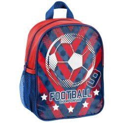Focis hátizsák, ovis, 28 cm, kék-piros, Paso