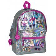 Barbie táska, hátizsák, 40 cm, fényes