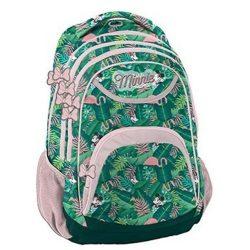 Minnie hátizsák 41 cm, dzsungel, flamingó, Paso