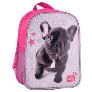 Kutyás táska, hátizsák, 28 cm, francia bulldog