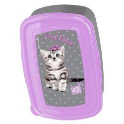 Cicás uzsonnás doboz, sweet kitten, Paso Studio Pets