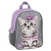 Cicás hátizsák, 28 cm, szürke pöttyös, sweet kitten, Paso Studio Pets