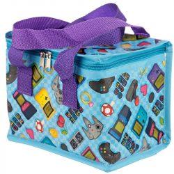Game Over uzsonnás táska, hűtőtáska, 21 cm