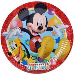 Mickey papírtányér 20 cm 8 db-os
