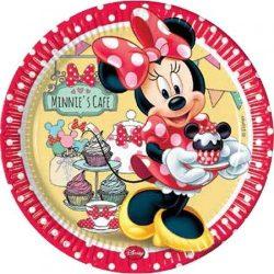 Minnie papírtányér 23 cm 8 db-os