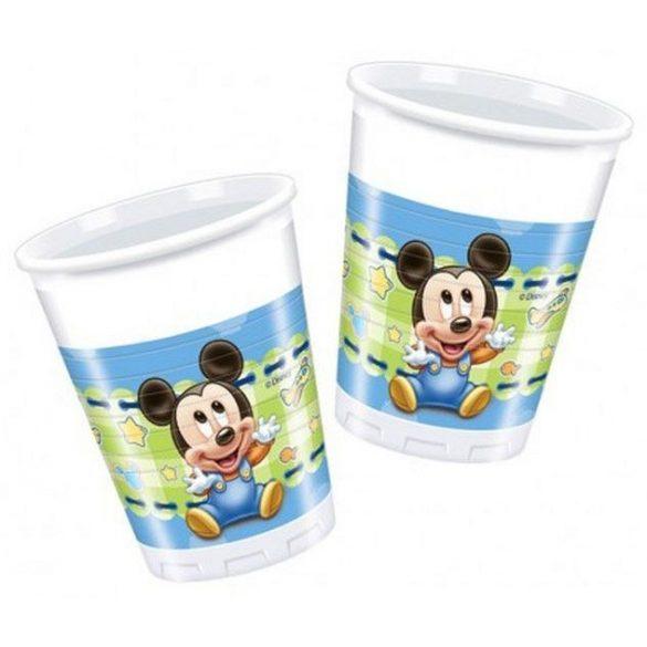 Mickey műanyag pohár 8 db-os 200 ml