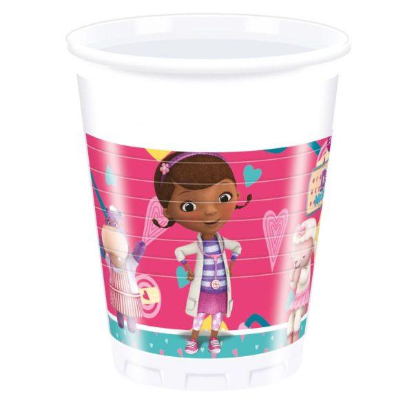 Dr. Plüssi műanyag pohár 8 db-os 200 ml