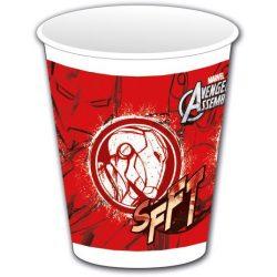 Bosszúállók műanyag pohár 8 db-os 200 ml