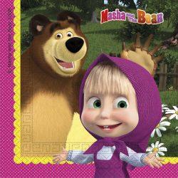 Mása és a Medve szalvéta 20db-os