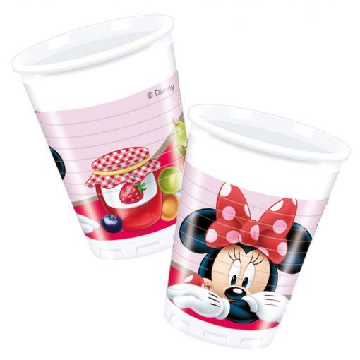Minnie műanyag pohár 8 db-os 200 ml