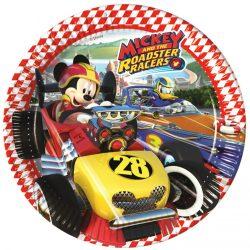 Mickey papírtányér 23 cm 8 db-os