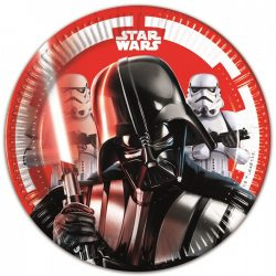 Star Wars papírtányér 20 cm 8 db-os