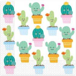 Kaktusz szalvéta 20 db-os
