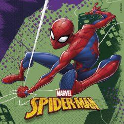 Pókember szalvéta 20db-os
