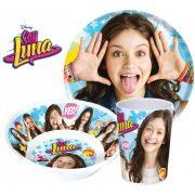 Soy Luna melamin étkészlet