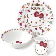 Hello Kitty porcelán étkészlet
