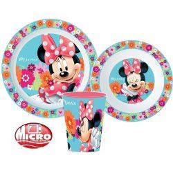 Minnie micro műanyag étkészlet
