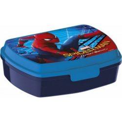 Pókember uzsonnás doboz