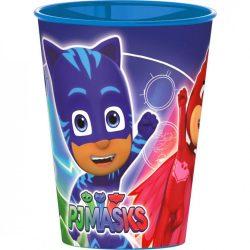 Pizsihősök műanyag pohár