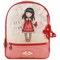 Santoro Gorjuss hátizsák, iskolatáska 42 cm, Cityscape, Time To Fly