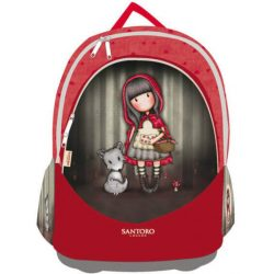 Santoro Gorjuss hátizsák, iskolatáska,  40 cm, Little Red Riding Hood
