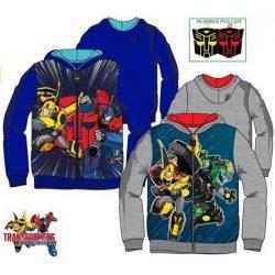 Transformers melegítő felső, kapucnis pulóver