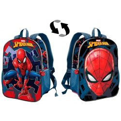 Pókember iskolatáska, hátizsák, kétoldalas