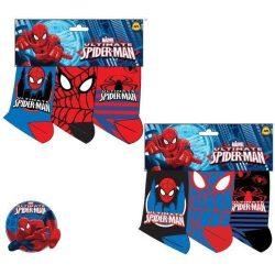 Pókember zokni, 3 pár