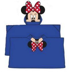 Minnie egér kapucnis plüss takaró 80*120 cm