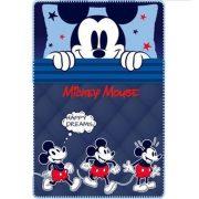 Mickey polár takaró 100*150 cm, kék