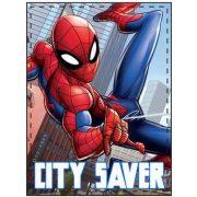 Pókember plüss takaró 90*120 cm, City Saver