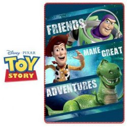 Toy Story polár takaró 100*150 cm
