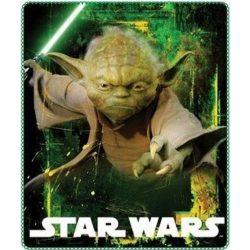 Star Wars polár takaró Yoda 120*140 cm