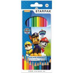 Mancs őrjárat színes ceruza készlet, 12 db-os