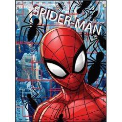 Pókember plüss takaró 90*120 cm